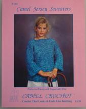 Camel Crochet Jersey Sweaters Leaflet - $1.25