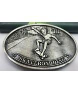 Vintage Skateboarding Belt Buckle 1977 - $24.38