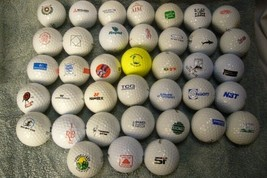 38 Logo Golf Balls image 1