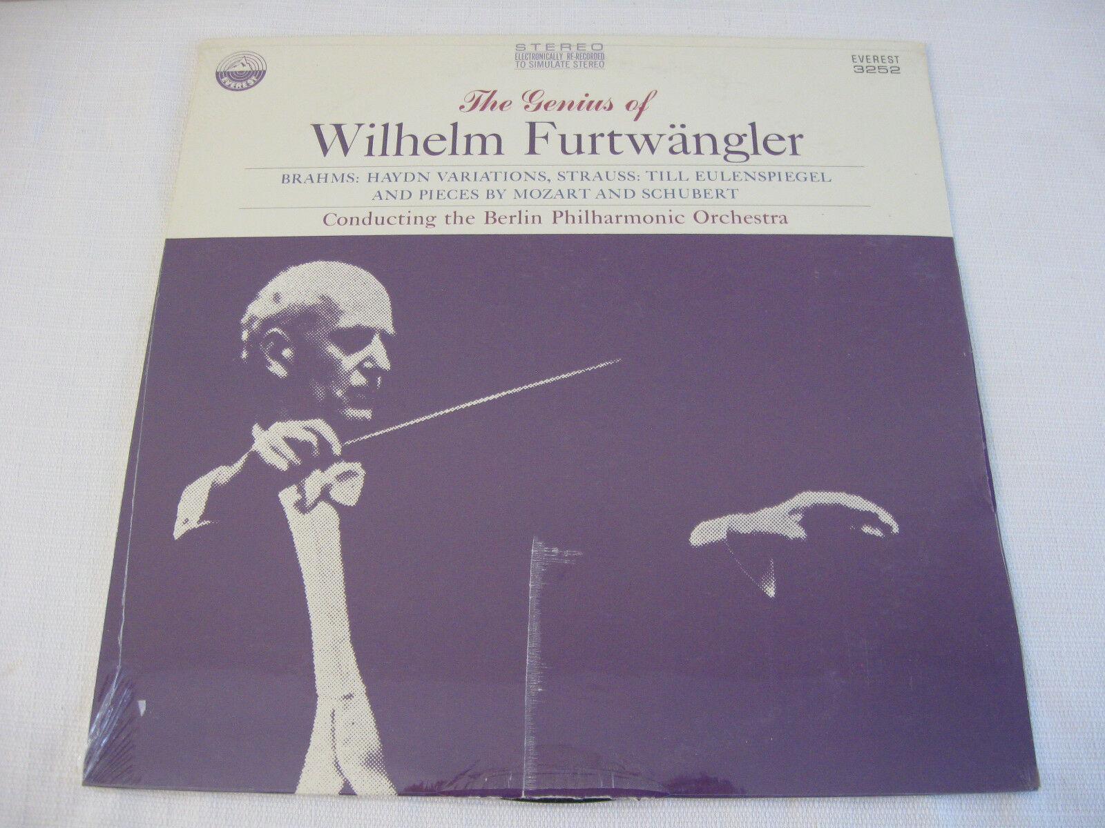 Wilhelm Furtwangler Genius Of Haydn Everest Stereo Vinyl Record Album Sealed LP