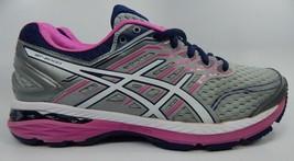Asics GT 2000 v 5 Women's Running Shoes Sz US 9 M (B) EU 40.5 Silver Pink T757N