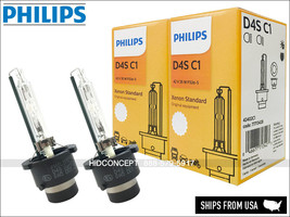D4S Philips OEM 4300K HID Headlight Bulbs 42402C1 w/COA Pack of 2 DOT - $155.96