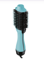 REVLON One-Step Hair Dryer And Volumizer Hot Air Brush, Mint - $39.95