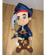 """Jake And The Neverland Pirates 12"""" Plush Stuffed Character Walt Disney P... - $14.84"""