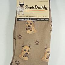 Great Dane Dog Socks Fun Novelty Dress Casual Unisex SOX Sock Daddy Pupp... - $11.99