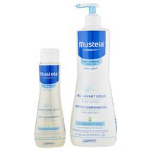 Mustela Gentle Cleansing Gel 750 ml & Gentle Shampoo 200 ml   - $39.81