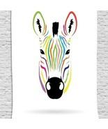 Tapestry Zebra Head Print Wall Hanging Backdrop 8904 - $29.65