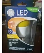 NEW GE Led 40/7 Watt Bug Light,Size 1 BULB - $25.24