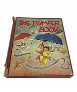 The Bumper Hardcover Book 1946 4th Edition Collection of Stories Verses ... - $37.39