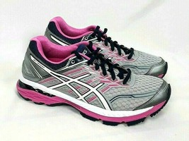 ASICS GT 2000 T757N Womens SIZE 6 Gray Pink Blue Running Shoes Sneakers - $34.63