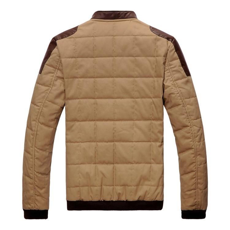 Men's thick warm coat image 3