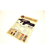 ALIENS  M41-A PULSE RIFLE DISPLAY CARD POSTER CUSTOM MADE JAMES CAMERON ... - $49.99
