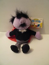 """Tyco Beans Sesame Street Mumford Bean 7"""" Stuffed Toy Plush Vintage 1997 ... - $9.89"""