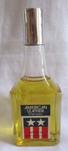 VINTAGE AMERICAN LEATHER AFTER SHAVE 5 OZ FIELDSTON USA 90% full - $9.90