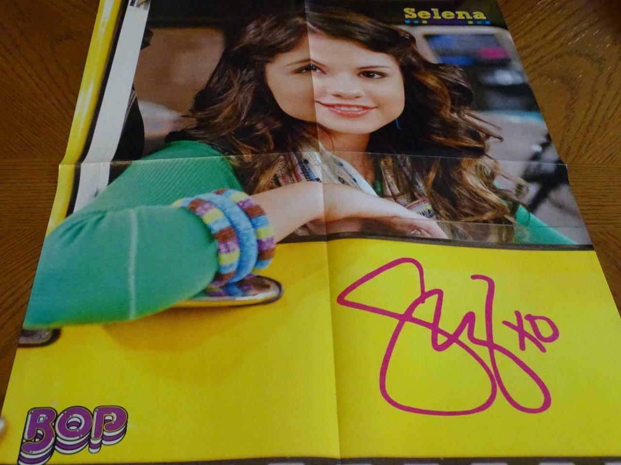 Primary image for Selena Gomez Jonas Brothers teen magazine poster clipping Kevin Jonas car