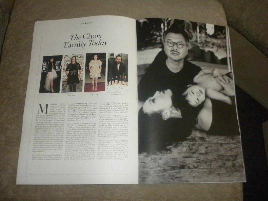 Olivia Palermo; Michael Chow; Bill Cunningham; Art; Photos; 57 Magazine 2016 NF