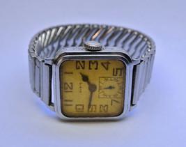 "VINTAGE 1930s MENS ""ELGIN"" 30.0mm Square Wrist ... - $48.00"