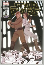 Marvel Star Wars #1 Sketch Variant SIGNED Jenny Frison Cover Art Luke & ... - $24.74