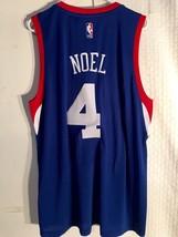 Adidas Swingman 2015-16 NBA Jersey Philadelphia 76ers Nerlens Noel Blue sz 2X - $19.79
