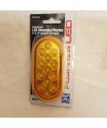 ROADPRO RP1259DLA 2x4 Sealed LED Light with Diamond Lens Amber - $11.83