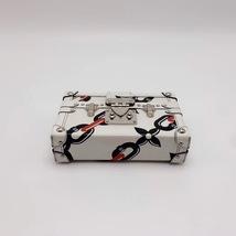 100% AUTH LOUISE VUITTON PETITE MALLE EPI WHITE CHAIN BAG LEATHER image 7
