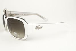 Lacoste White / Brown Gradient Sunglasses 12628 59 WH - $78.21