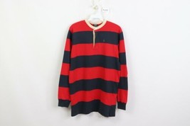Vintage 90s Polo Ralph Lauren Mens Small Striped Long Sleeve Henley Shir... - $49.45