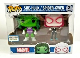 Marvel She-Hulk Spider-Gwen Funko Pop! Vinyl Bobblehead 2 Pack B&N Exclusive NEW - $19.99