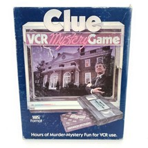 Clue (VCR) Mystery Game by Parker Brothers - $28.01