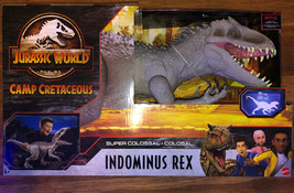 Jurassic World: Camp Super Colosal Indominus Rex HUGE In Hand Ship Today! - $98.01