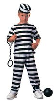 Boys Prisoner Boy Halloween Costume  - $12.00