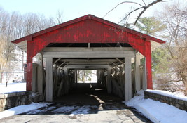 Bogert's Covered Bridge 13 x 19 Unmatted Photograph - $35.00
