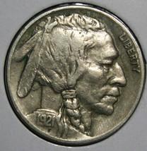 1921 Buffalo Nickel 5¢ Coin Lot # EA 329 - $32.68