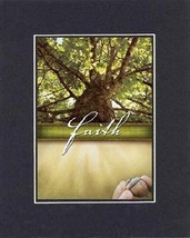 Inspirational Plaques - Faith. . . 8 x 10 Inches Biblical/Religious Verses set i - $11.14
