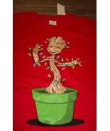 Marvel GUARDIANS OF THE GALAXY GROOT CHRISTMAS TREE T-Shirt XXL 2XL NEW ... - $19.80