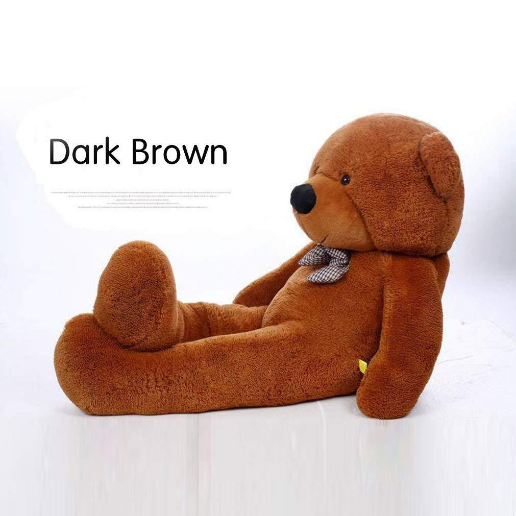 WOWMAX Dark Brown Teddy Bear Large Stuffed Animal Ultra Soft Plush Toy Kids Gift
