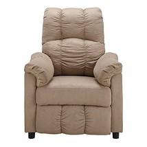 Slim Recliner Chair Footrest Lounger Reclining Lazy Den Nursery Small Ar... - $221.02
