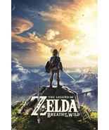 The Legend of Zelda Breath of The Wild 24x36 Poster! - $11.14