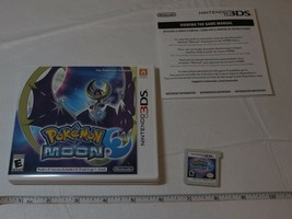 Pokemon Luna Nintendo 3DS 2016 Raro Juego Everyone Esrb 2D Game Boy Funda - $31.99