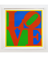 Robert Indiana Heliotherapy Love Screenprint Si... - $16,335.00