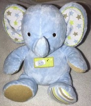 Carter's Baby Little Star Sing and Dance Blue Musical Elephant Plush Toy EUC - $19.79