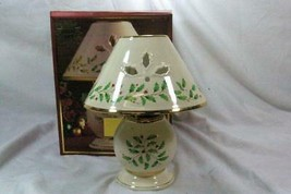 Lenox Holiday 2 Piece Candle Lamp In Box EUC - $20.78