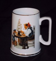 """1986 Norman Rockwell Museum Collection Mug / Small Stein - """"For a Good Boy"""" - $8.59"""
