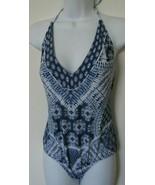 Jessica Simpson Blue Print Swim Suit Größe M - €22,58 EUR