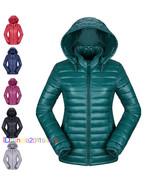 Factory Sale! 2018 Women's Ultralight Hooded Down Parka Jacket Coat Uniq... - $25.25
