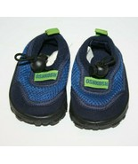 Oshkosh Baby WATER SHOES Size 2 Mesh Infant Pool Beach Sand Play Blue Un... - $15.45