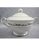 Style House Fine China Regal Covered Sugar Bowl with Lid Double Handle J... - $5.90