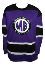 Martin Payne #23 Morris Brown College TV Show Hockey Jersey New Purple Any Size image 3
