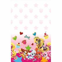 Amscan 571581 Plastic Table Cover | Pink Disney Palace Pets Collection |... - $6.91
