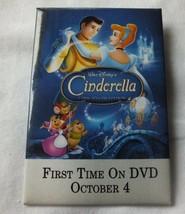 Vintage Disney Cinderella Movie Pinback Button Collectible - $15.51